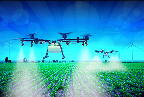 4Ry Precision Drone Crop Spraying